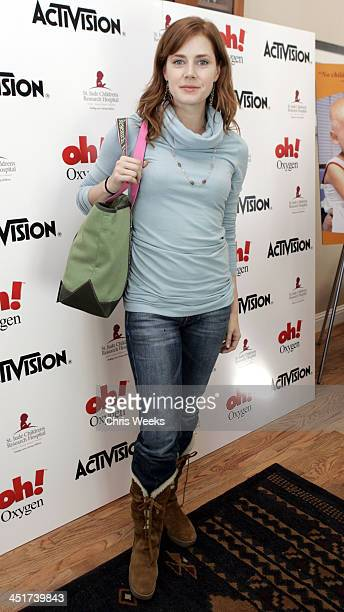 Amy Adams during 2005 Park City The Activision House Benefiting St Jude Children's Research Hospital at 262 Grant Avenue in Park City Utah United...
