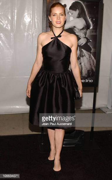 Amy Adams during 20th Century Fox's Walk The Line Celebrity Screening Arrivals at Academy of Motion Picture Arts Sciences in Beverly Hills California...