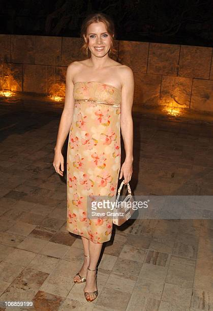 Amy Adams during Dior and EIF's Women's Cancer Research Fund Celebrate the Launch of Dior Christal at the Getty Center in Los Angeles California...
