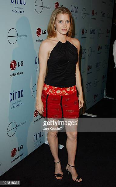 Amy Adams during Endeavor's MTV Movie Awards Party Featuring Ciroc Vodka And LG Mobile Phones at Dolce in West Hollywood California United States
