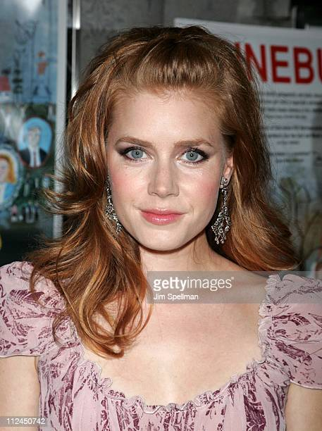 Amy Adams during 'Junebug' New York City Premiere Arrivals at Loews 19th Street in New York City New York United States