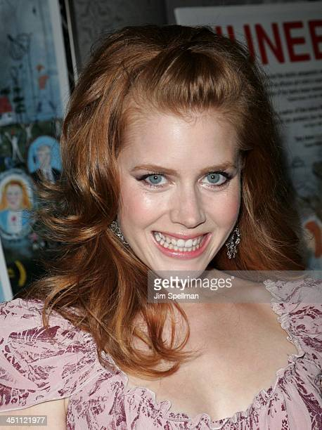 Amy Adams during Junebug New York City Premiere Arrivals at Loews 19th Street in New York City New York United States