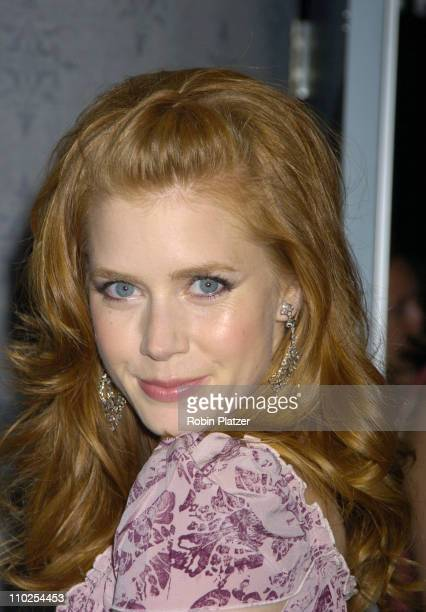 Amy Adams during 'Junebug' New York City Premiere Arrivals at The Loews 19th Street Theatre in New York New York United States