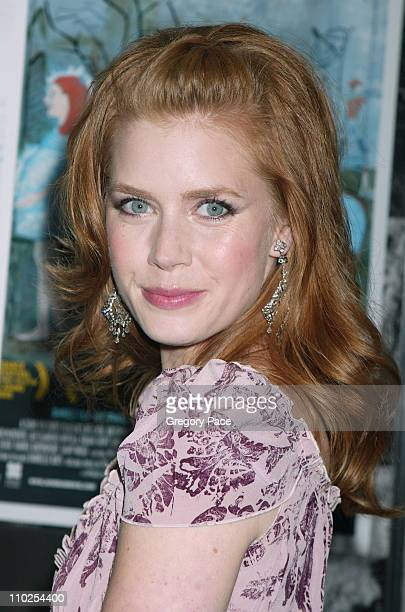 Amy Adams during 'Junebug' New York City Premiere Inside Arrivals at Loews 19th Street in New York City New York United States