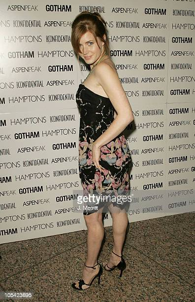 Amy Adams during Los Angeles Confidential Celebrates Gotham Magazine Cover Star Debra Messing at The Maple Drive Atrium in Beverly Hills California...