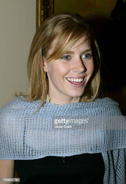 Amy Adams during On The Set of 'Stephen Tobolowsky's Birthday Party' at The Home of Stephen Tobolowsky in Studio City CA United States