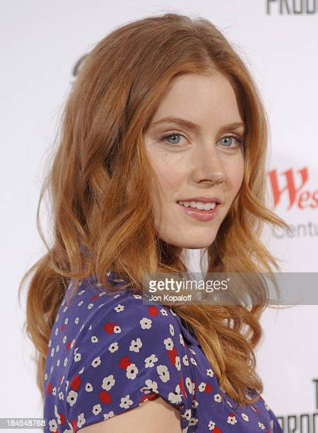 Amy Adams during 'The Producers' Los Angeles Premiere Arrivals at Westfield Century City AMC Theaters in Century City California United States