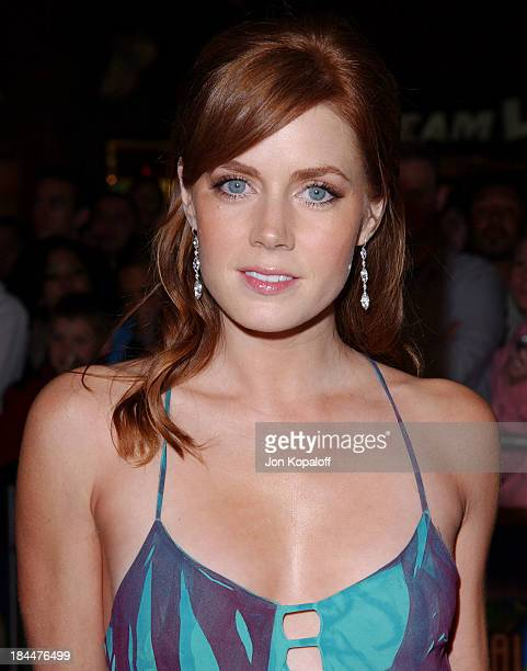 Amy Adams during 'The Wedding Date' Los Angeles Premiere Arrivals at Universal Amphitheatre in Universal City California United States