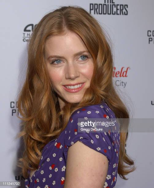 Amy Adams during Universal Pictures' 'The Producers' World Premiere Arrivals at Westfield Century City in Century City California United States