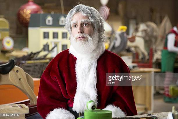 LIVE Amy Adams Episode 1672 Pictured Kyle Mooney as Kris Kringle during the Christmas Serial skit on December 20 2014