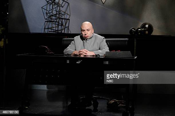 LIVE Amy Adams Episode 1672 Pictured Mike Myers as DrEvil during the Sam Smith / Dr Evil Cold Open skit on December 20 2014