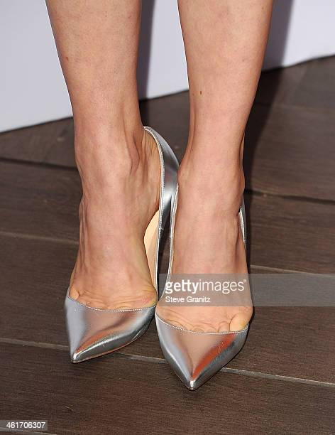 Amy Adams fashion detail at the 14th annual AFI Awards Luncheon at the Four Seasons Hotel Beverly Hills on January 10 2014 in Beverly Hills California