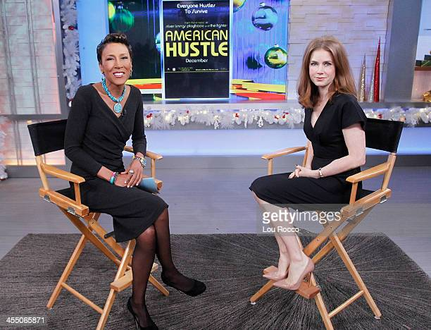 AMERICA Amy Adams is a guest on 'Good Morning America' 12/10/13 airing on the ABC Television Network ROBIN