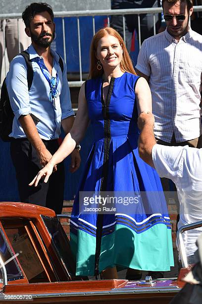 Amy Adams is seen during the 73rd Venice Film Festival on September 1 2016 in Venice Italy