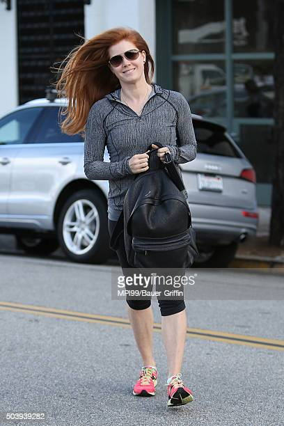 Amy Adams is seen on January 07 2016 in Los Angeles California