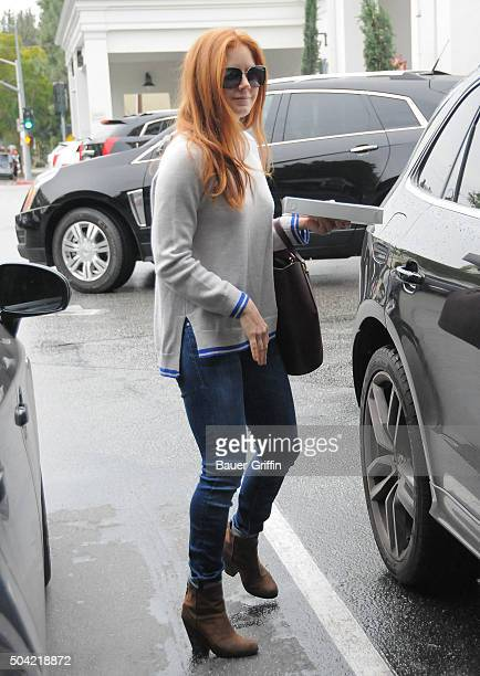 Amy Adams is seen on January 09 2016 in Los Angeles California
