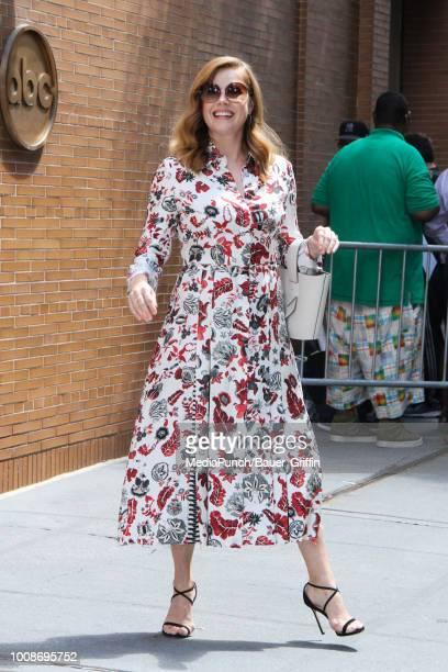 Amy Adams is seen on July 31 2018 in New York City