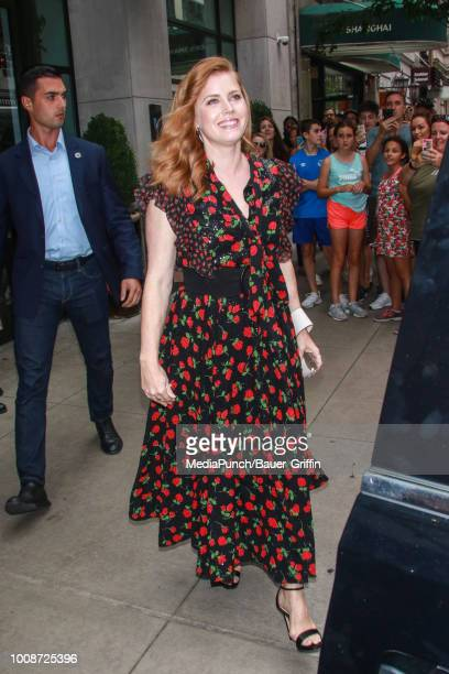 Amy Adams is seen on July 31 2018 in New York City