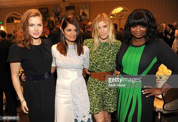Amy Adams Melonie Diaz Kate Mara and Octavia Spencer attend the 14th annual AFI Awards Luncheon at the Four Seasons Hotel Beverly Hills on January 10...