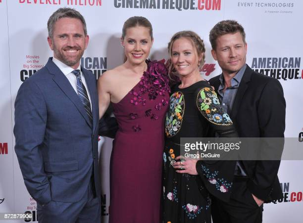 Amy Adams sister Anna and brothers arrive at the 31st Annual American Cinematheque Awards Gala at The Beverly Hilton Hotel on November 10 2017 in...