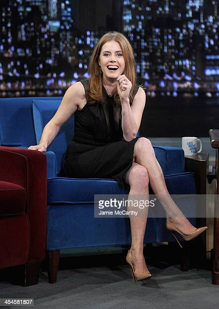 Amy Adams visits 'Late Night With Jimmy Fallon' at Rockefeller Center on December 9 2013 in New York City