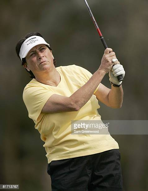 Amy Alcott during the first round of the Kraft Nabisco Championship held at Mission Hills CC in Rancho Mirage CA on Thursday March 30 2006
