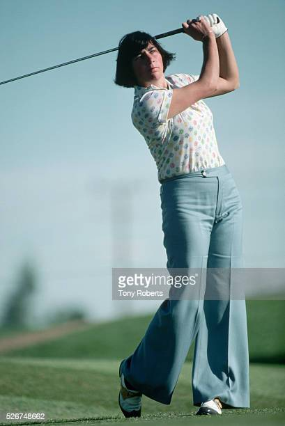 Amy Alcott Playing Golf