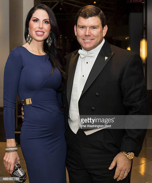 Amy and Bret Baier arrive at the Gridiron Club Dinner at the Renaissance Hotel in Washington DC on March 14 2015 The annual dinner is a massive...