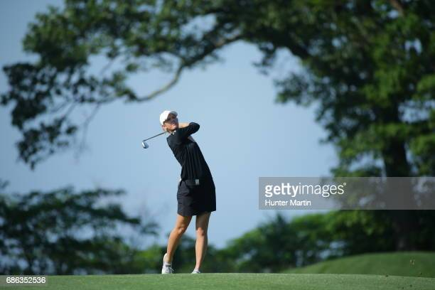 Amy Anderson during the second round of the Kingsmill Championship presented by JTBC on the River Course at Kingsmill Resort on May 19 2017 in...