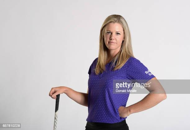 Amy Anderson of the United States poses for a portrait at the Park Hyatt Aviara Resort on March 22 2017 in Carlsbad California