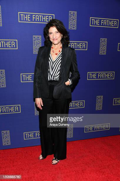 "Amy Aquino at the Pasadena Playhouse presents the ""The Father"" at Pasadena Playhouse on February 11, 2020 in Pasadena, California."