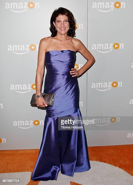 Amy Aquino attends Amazon's Emmy Celebration at Sunset Tower Hotel on September 18 2016 in West Hollywood California
