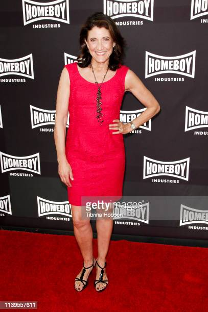 Amy Aquino attends Homeboy Industries 2019 Lo Máximo Awards Dinner at JW Marriott Los Angeles at L.A. LIVE on March 30, 2019 in Los Angeles,...