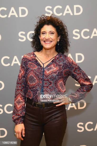 "Amy Aquino attends the ""Bosch"" press junket during SCAD aTVfest 2019 at SCADshow on February 7, 2019 in Atlanta, Georgia."