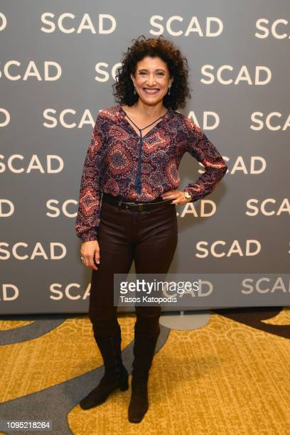 Amy Aquino attends the 'Bosch' press junket during SCAD aTVfest 2019 at SCADshow on February 7 2019 in Atlanta Georgia