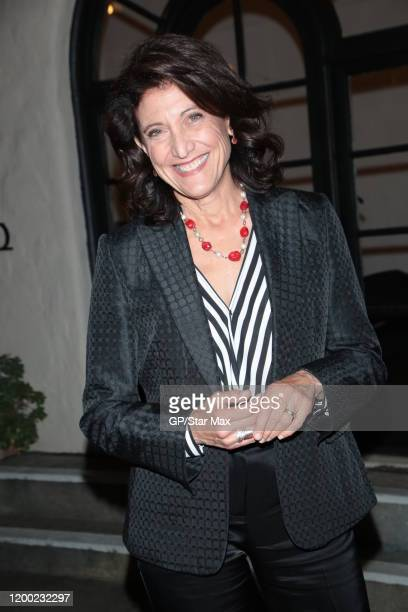 Amy Aquino is seen on February 11, 2020 in Los Angeles, California.
