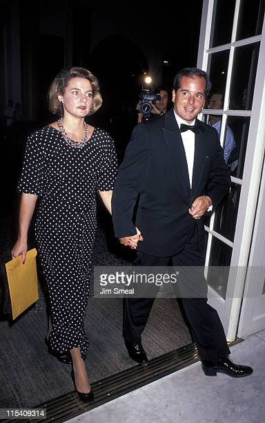 Amy Arnaz and Desi Arnaz Jr during Television Academy Hall of Fame Awards at Beverly Wilshire Hotel in Beverly Hills California United States
