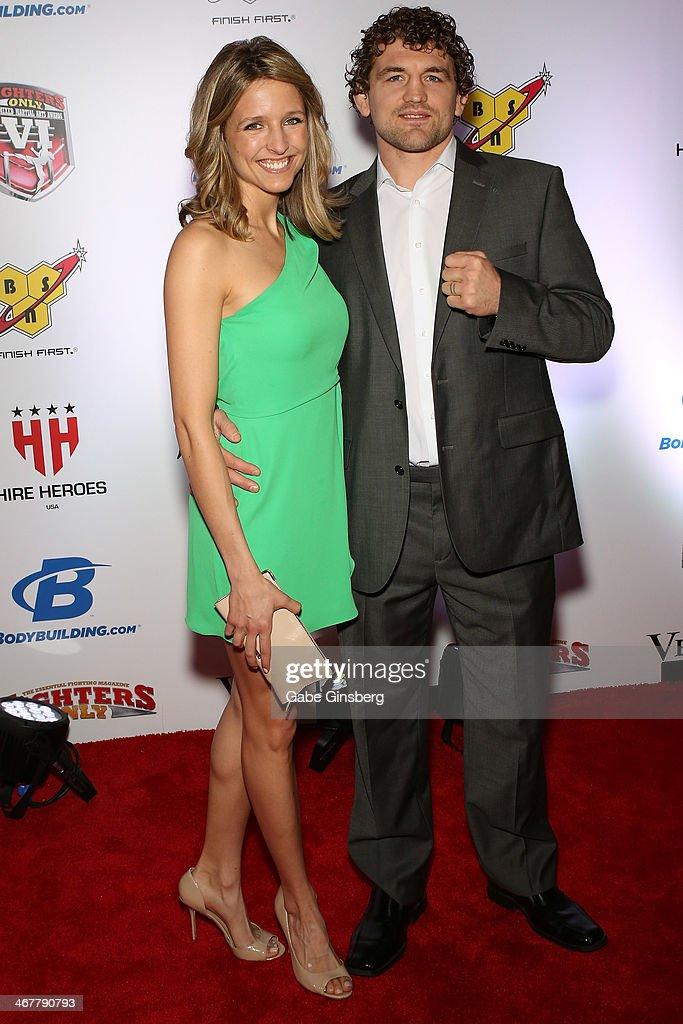 Amy Askren and her husband, mixed martial artist Ben ...