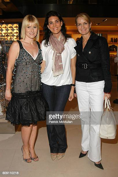 Amy Astley Amy Erbesfeld and Heather Bandenberghe attend LOUIS VUITTON TEEN VOGUE 2007 Spring/Summer Collection Preview for Mothers Daughters at...