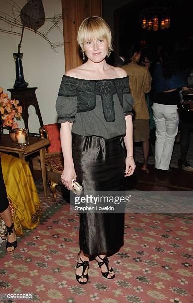 Amy Astley at the Marni dinner for Consuelo Castiglioni
