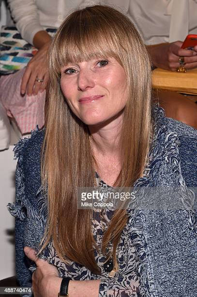 Amy Astley attends Ralph Lauren Spring 2016 during New York Fashion Week The Shows at Skylight Clarkson Sq on September 17 2015 in New York City