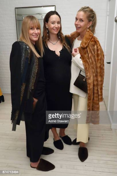 Amy Astley Jenni Kayne and Meredith Melling attend Dinner to Celebrate Jenni Kaynes Tribeca Boutique with Amy Astley and Meredith Melling at 20...