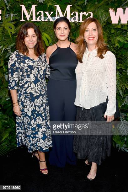 Amy Baer Maria Giulia Maramotti wearing Max Mara and Kirsten Schaffer attend the Max Mara Celebration for Alexandra Shipp 2018 Women In Film Max Mara...