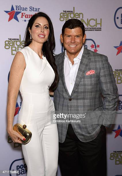Amy Baier and Bret Baier attend the 2015 Annual Garden Brunch at the BeallWashington House on April 25 2015 in Washington DC