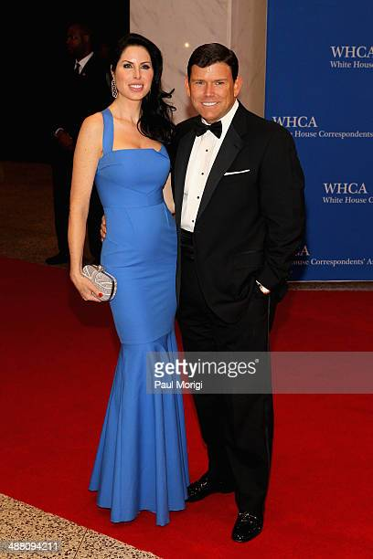 Amy Baier and Journalist Bret Baier attend the 100th Annual White House Correspondents' Association Dinner at the Washington Hilton on May 3 2014 in...