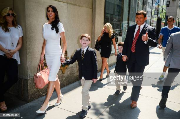 Amy Baier Paul Baier Daniel Baier and television personality Bret Baier leave the Today Show taping at the NBC Rockefeller Center Studios on June 3...