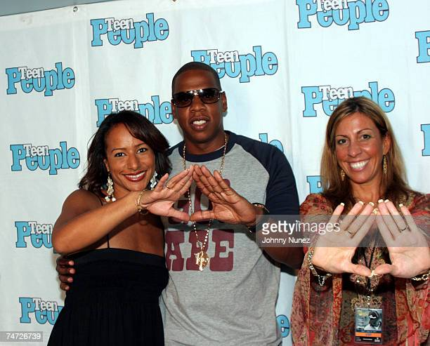 Amy Barnett JayZ and Guest at the Canal Room in New York New York