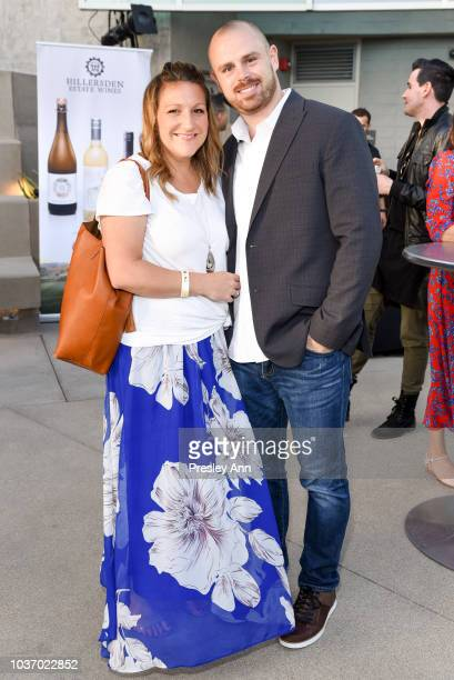 """Amy Bates and Evan Bates attend 2018 LA Film Festival - Opening Night Premiere Of """"Echo In The Canyon"""" - Pre-Reception at John Anson Ford..."""