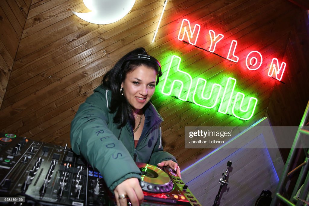 Amy Becker performs at the NYLON And The Hulu Original The Handmaid's Tale Celebrate SXSTYLE At #TwitterHouse at Bar 96 on March 13, 2017 in Austin, Texas.
