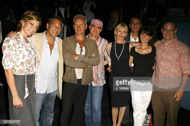 Amy Beecroft, Henry Winterstern, Sting, Bobby Sager, Turdie Styler, Stuart Ford, Ruth Vitale and Dito Montiel, director